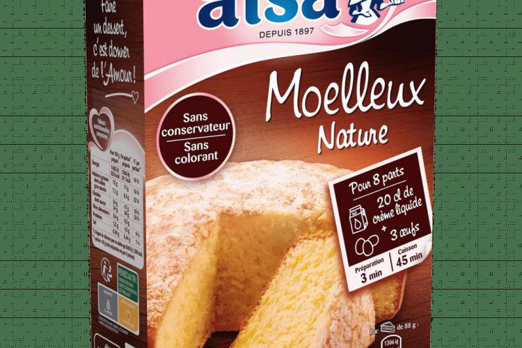 Gâteau moelleux nature [Alsa]