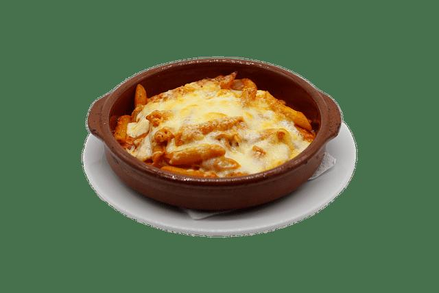 Gratin de pâtes à la courge bleue de Hongrie et à la mozzarella