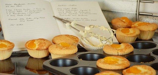 Muffins apéritif au potiron et au bacon