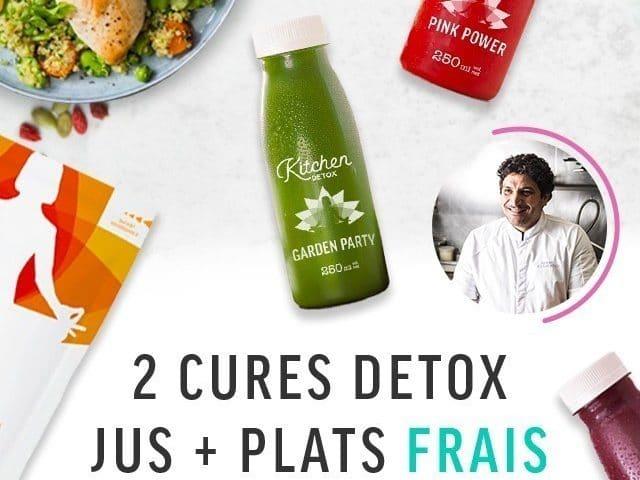 J'ai testé : la detox «Pure liquide» KitchenDiet